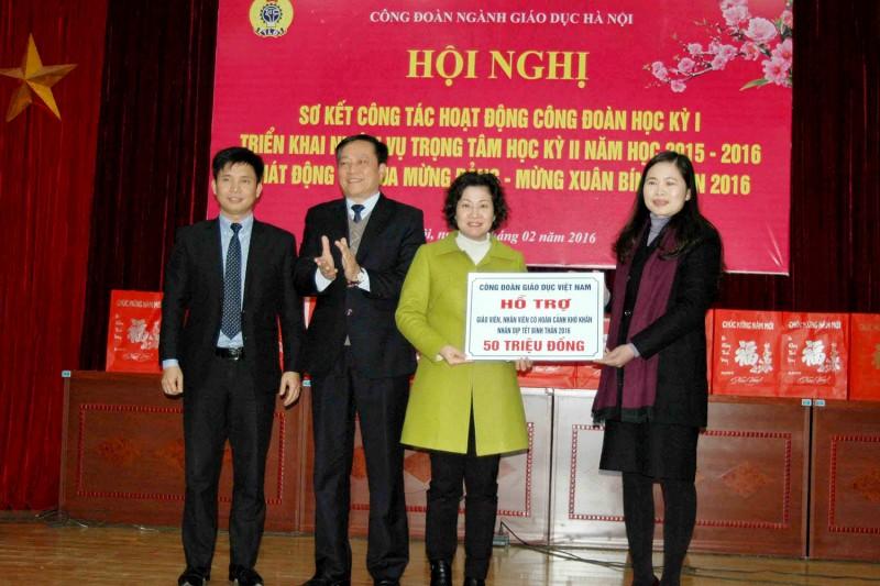 Ngành Giáo dục Hà Nội: Chung tay chăm lo Tết