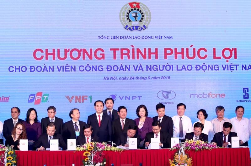 10 hoạt động nổi bật của tổ chức Công đoàn Việt Nam năm 2016