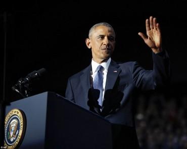 Video Tổng thống Mỹ Barack Obama đọc diễn văn chia tay