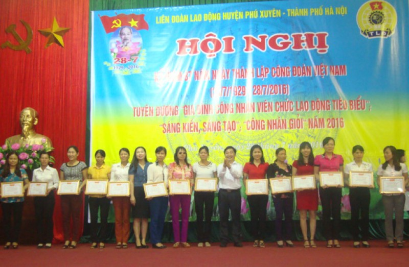 LĐLĐ huyện Phú Xuyên: Nỗ lực vì người lao động