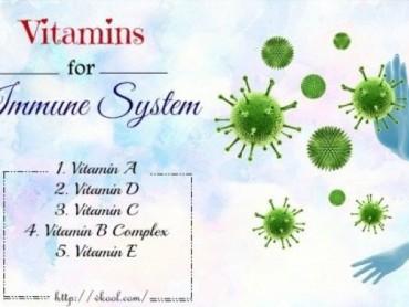Top 5 vitamin tốt nhất hỗ trợ cho hệ thống miễn dịch