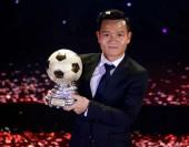 Đinh Thanh Trung giành Quả bóng Vàng Việt Nam 2017