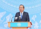 Phó Thủ tướng Thường trực Chính phủ phát động ra quân Năm an toàn giao thông 2018