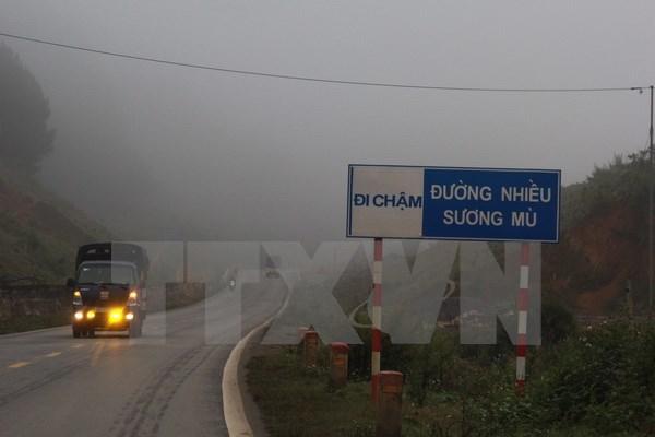 Miền Bắc tiếp tục có sương mù, vùng núi có mưa vừa, mưa to