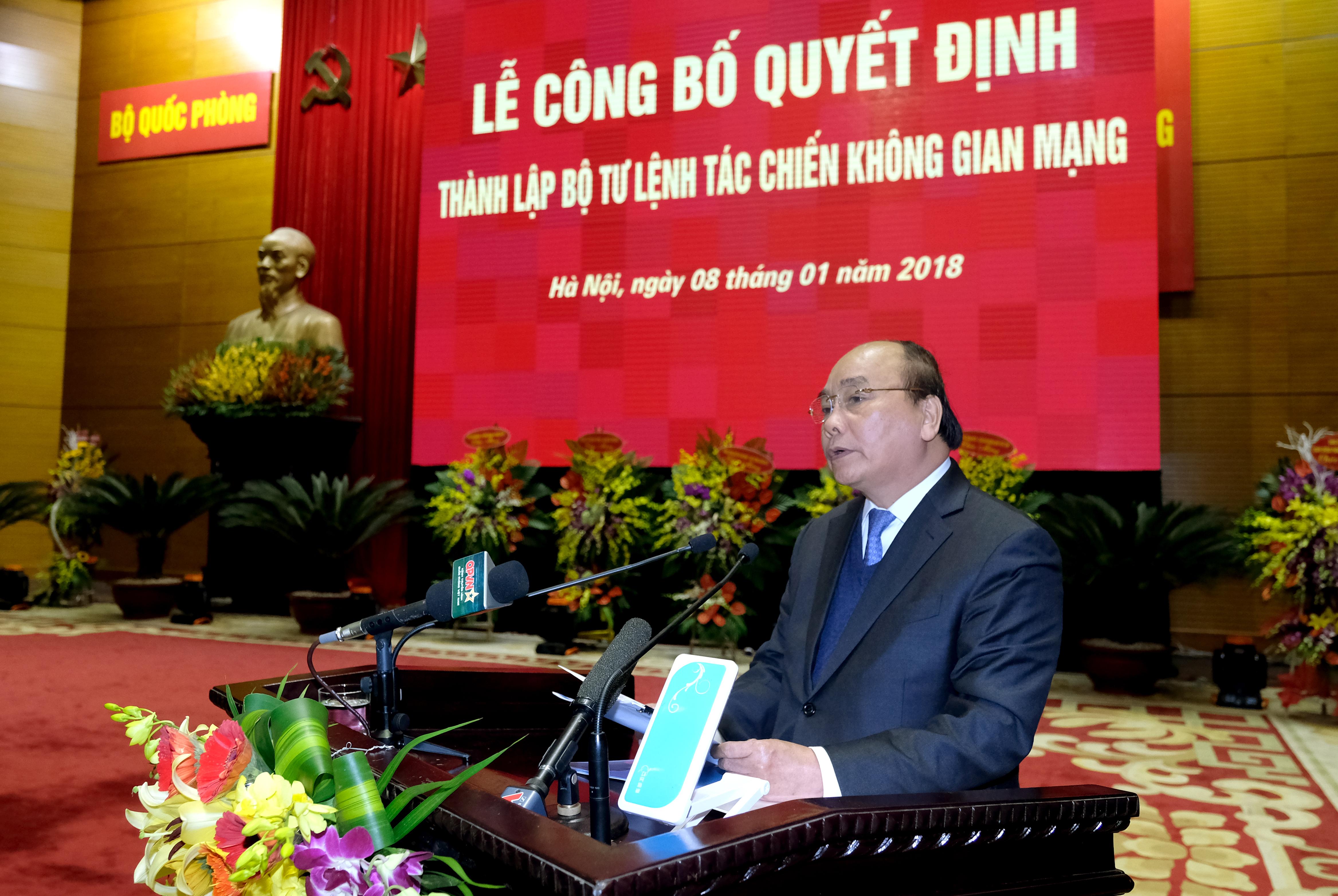 thu tuong giao nhiem vu cho luc luong tac chien khong gian mang