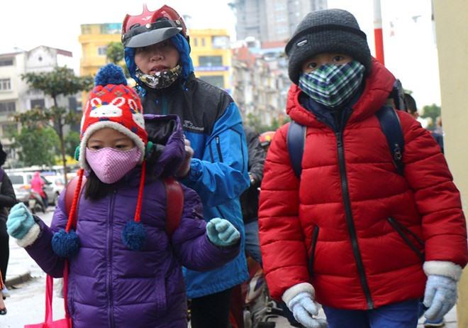 Nhiệt độ xuống dưới 10 độ C, học sinh được phép nghỉ học