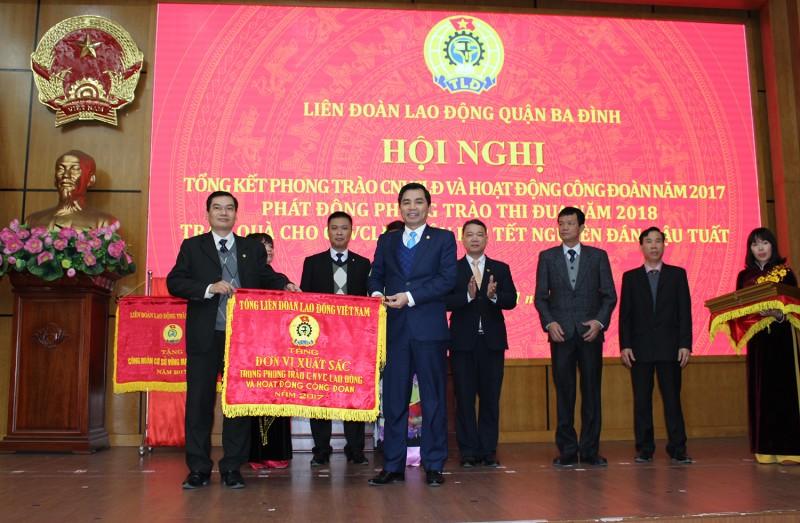 LĐLĐ quận Ba Đình: Nâng cao hiệu quả hoạt động công đoàn