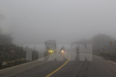 Khu vực Bắc Bộ và Bắc Trung bộ vẫn có sương mù vào sáng sớm