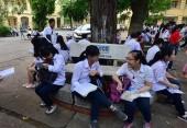 Hơn 100 nghìn học sinh Hà Nội bước vào kỳ thi nghề THCS năm 2018