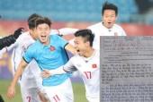 Nữ sinh được 10 môn Ngữ văn vì viết quá xúc động về chiến thắng của U23 Việt Nam