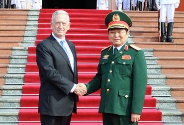 Việt Nam, Hoa Kỳ thúc đẩy quan hệ quốc phòng