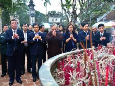 Kiểm tra công tác chuẩn bị Lễ hội đền Trần tại Nam Định