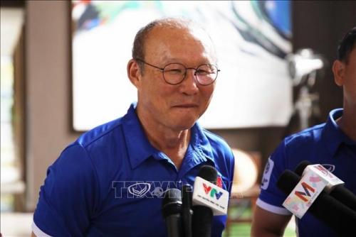 HLV Park Hang Seo nói về mục tiêu của tuyển Việt Nam tại Asian Cup 2019