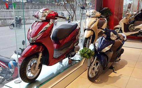 Xe mô tô, xe gắn máy sẽ phải dán nhãn năng lượng