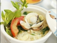 Món ngon mỗi ngày: Canh ngao nấu măng chua nóng hổi