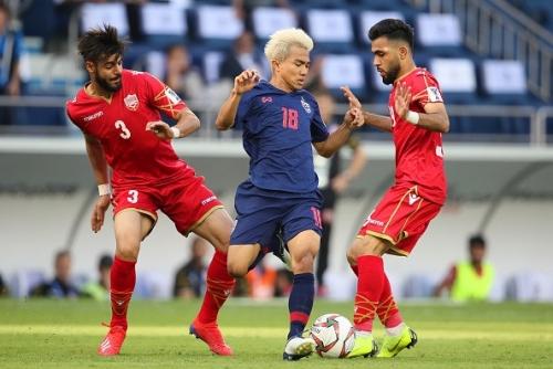 Thắng Bahrain, Thái Lan vẫn dễ bị loại từ vòng bảng Asian Cup 2019