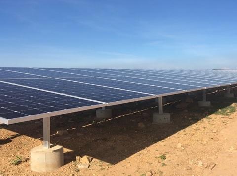 Dự án điện mặt trời đầu tiên của Ninh Thuận hòa lưới điện quốc gia