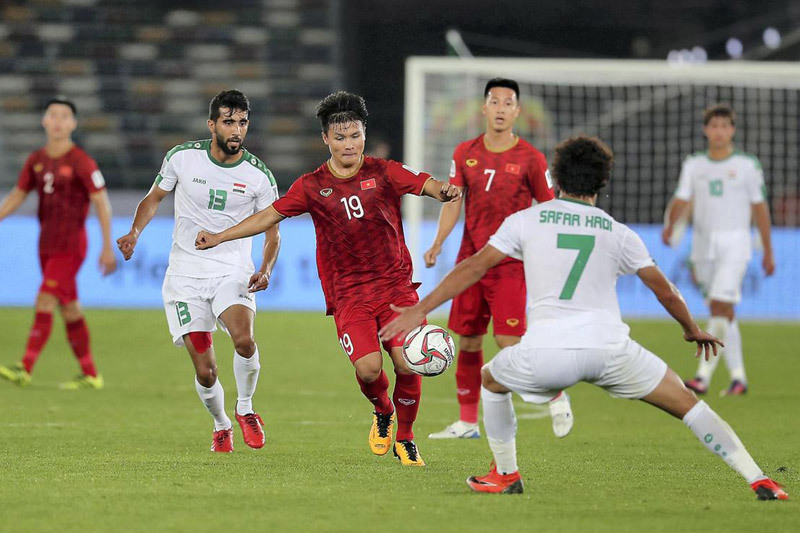 Việt Nam sẽ nằm ở nhóm hạt giống số 2 tại vòng loại World Cup 2022