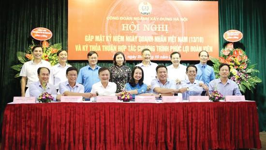 Công đoàn ngành Xây dựng Hà Nội: Quyền lợi đảm bảo, phúc lợi tốt hơn