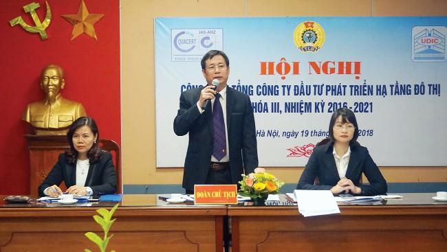 Công đoàn Tổng Công ty UDIC: Thực hiện tốt Quy chế dân chủ ở cơ sở