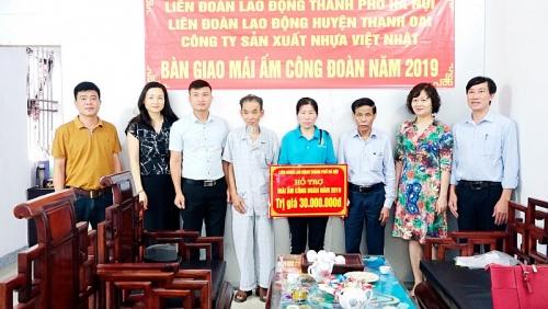 Liên đoàn Lao động huyện Thanh Oai: Khẳng định điểm tựa vững chắc