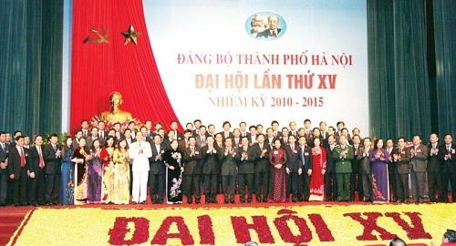 Đảng bộ thành phố Hà Nội: Nhìn lại 16 kỳ Đại hội