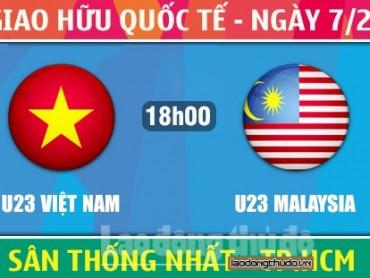 U23 Việt Nam – U23 Malaysia: Tìm chiến thắng đầu xuân