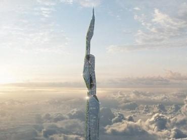 """Tiết lộ tòa nhà chọc trời """"thông minh"""" cao tới 5km"""