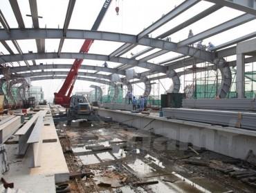 Chậm nhất tháng 10 sẽ chạy thử đoàn tàu đường sắt Cát Linh-Hà Đông