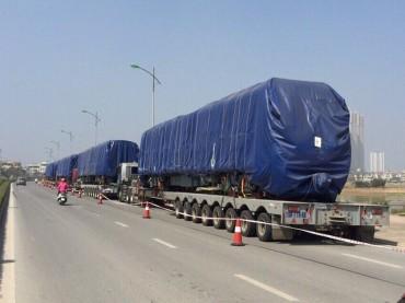 Cẩu 400 tấn đưa tàu Cát Linh - Hà Đông lên ray đường sắt đêm nay?