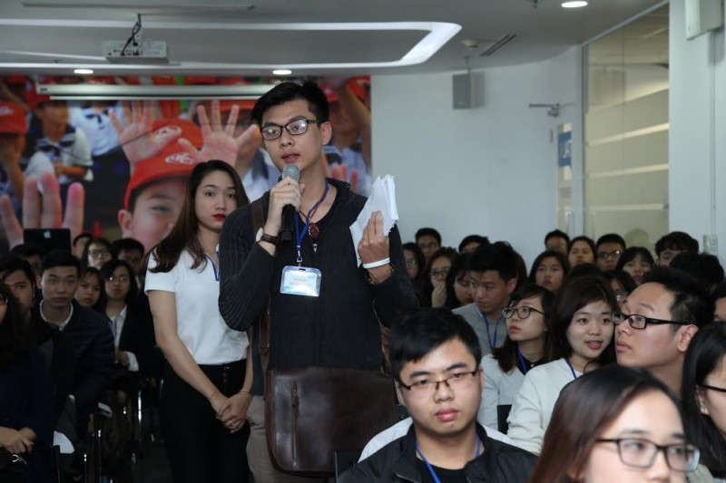 unilever viet nam to chuc ngay hoi nghe nghiep