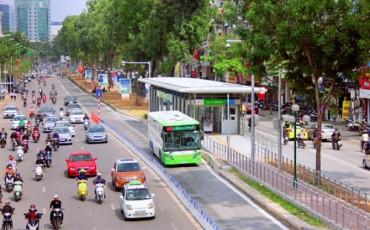 Hà Nội sẽ có 9 tuyến buýt nhanh BRT vào năm 2030