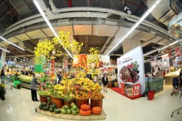 VinMart hỗ trợ điểm bán hoa – cây cảnh tết