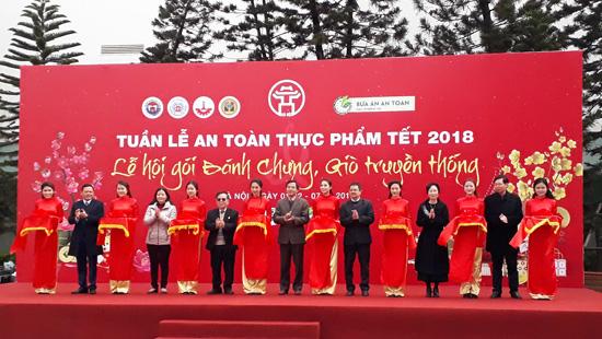 Hà Nội khai mạc Tuần lễ an toàn thực phẩm Tết Mậu Tuất