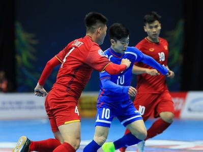 Đội tuyển futsal Việt Nam gặp Uzbekistan ở tứ kết giải châu Á