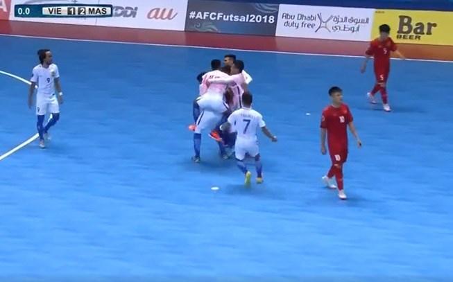 doi tuyen futsal viet nam gap uzbekistan o tu ket giai chau a