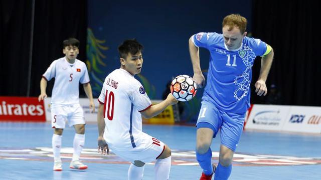 Thua Uzbekistan, đội tuyển futsal Việt Nam dừng bước ở tứ kết giải châu Á