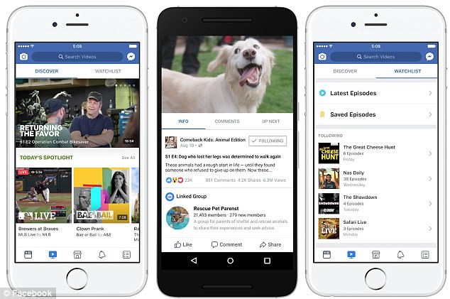Facebook có thể cải tiến nền tảng xem video tương tự như YouTube