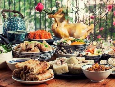 Sai lầm trong chế độ ăn uống ngày tết