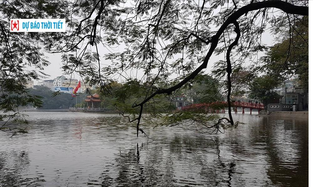 Dự báo thời tiết mùng 5 Tết: Không khí lạnh tăng cường, Hà Nội vẫn nóng
