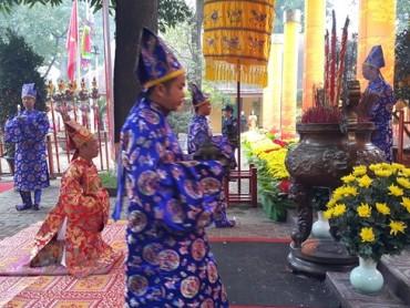 Dâng hương khai Xuân Mậu Tuất 2018 tại Hoàng thành Thăng Long