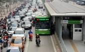 Bất ngờ đề xuất cho xe đi vào làn đường buýt nhanh BRT