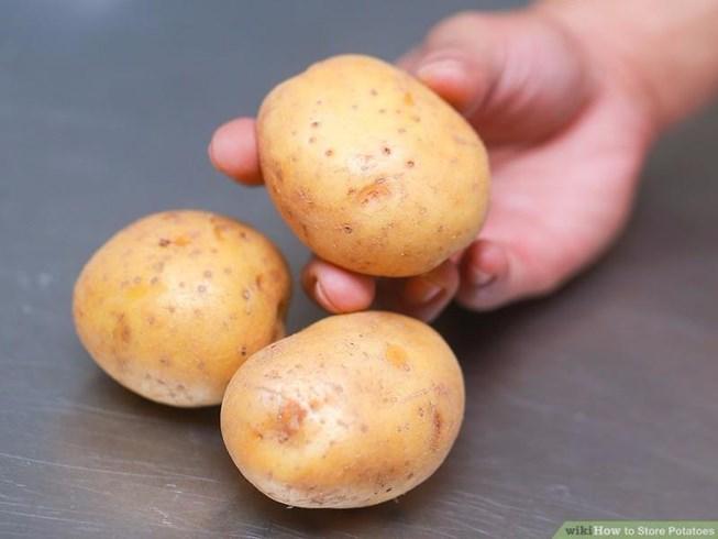 Cách lưu trữ khoai tây trong thời gian dài