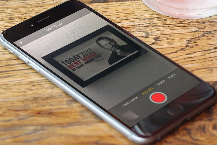 cach bien video quay cham thanh video thuong tren iphone va ipad