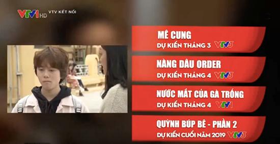 'Quỳnh búp bê' phần 2 sẽ lên sóng VTV cuối năm 2019