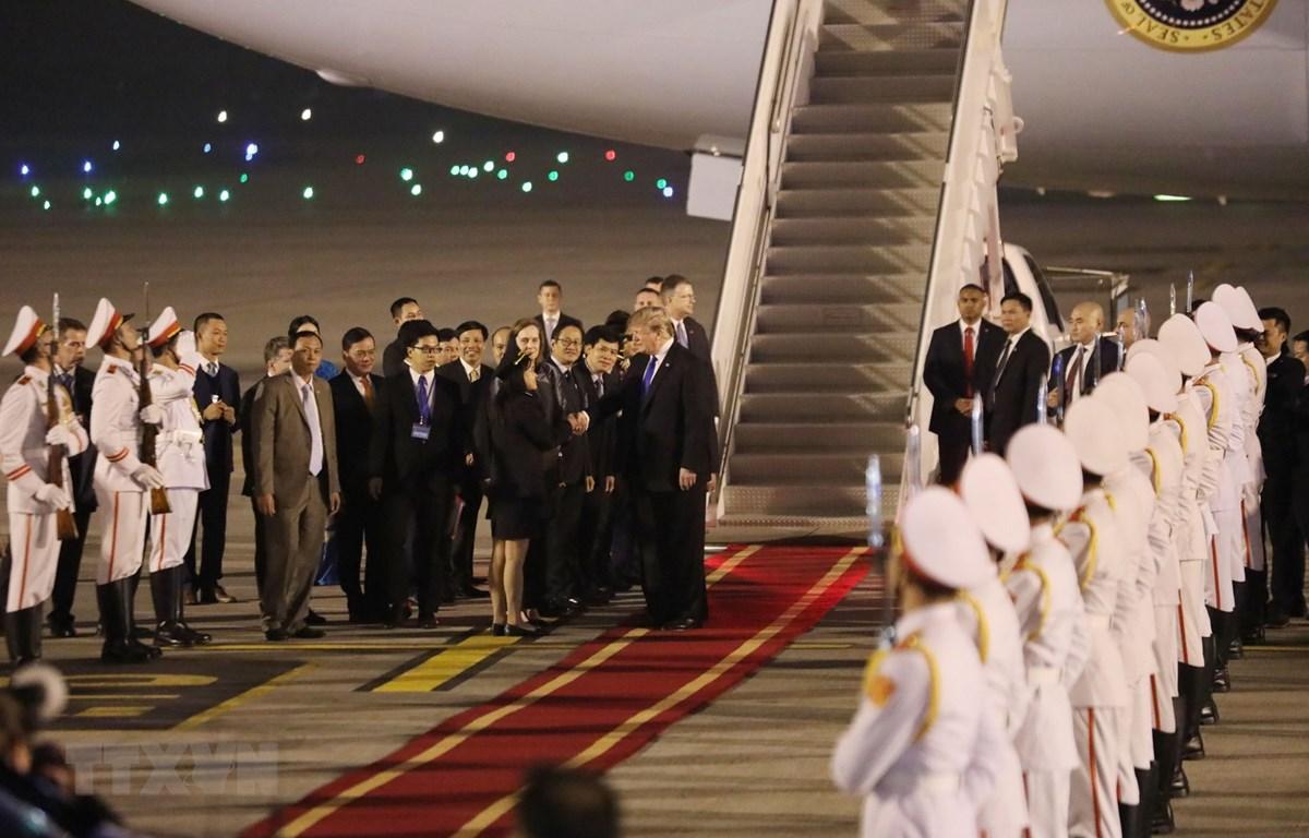 Nhà Trắng công bố lịch trình ngày đầu tiên của Hội nghị Thượng đỉnh Mỹ-Triều