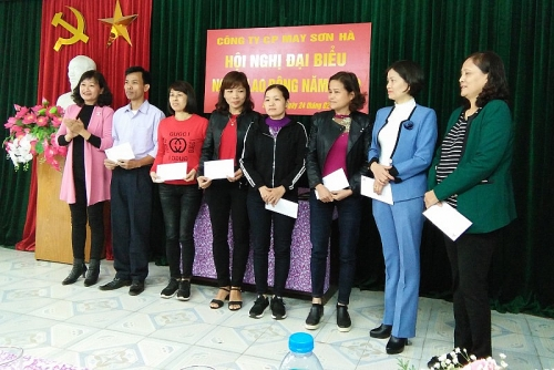 Công ty Cổ phần May Sơn Hà: Hội nghị Người lao động năm 2019