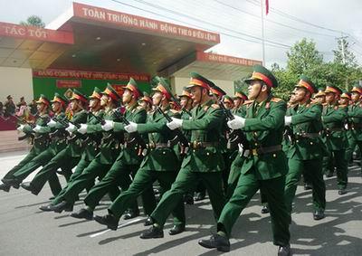 Bổ sung quy định mới về tuyển sinh vào các trường trong Quân đội
