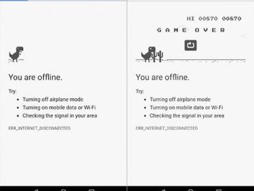 'Khui' trò chơi bí ẩn trên trình duyệt Chrome khi mất internet