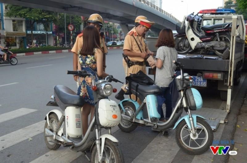 Xe đạp điện không phải làm thủ tục đăng ký xe